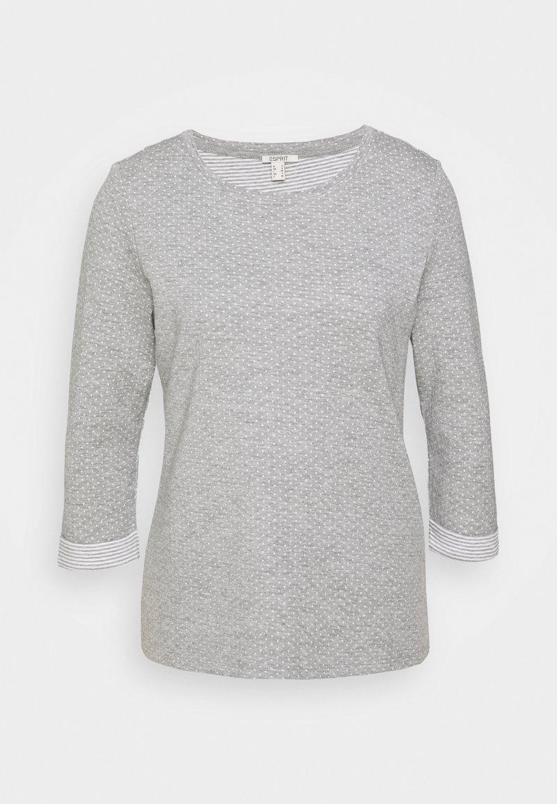 Esprit - Maglietta a manica lunga - light grey