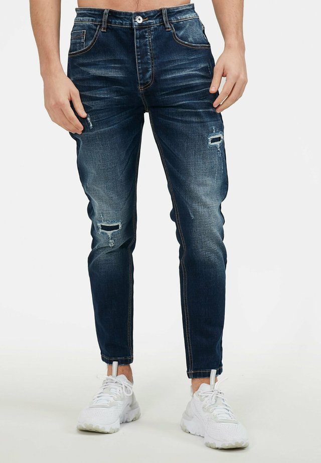 ELMONT - Jeans slim fit - indigo