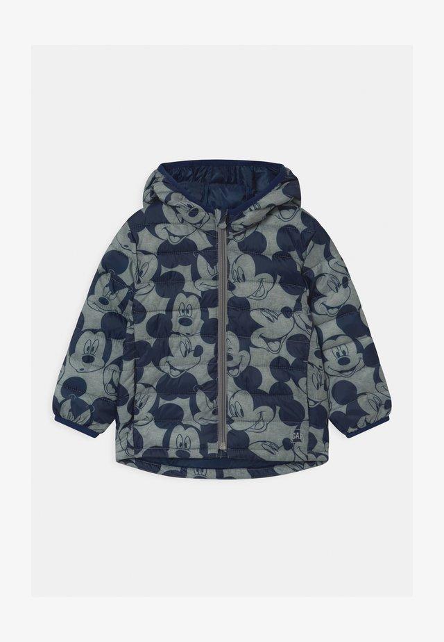TODDLER BOY PUFFER - Winter jacket - heather grey