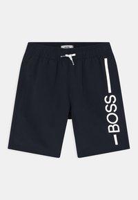 BOSS Kidswear - SWIM - Plavky - navy - 0