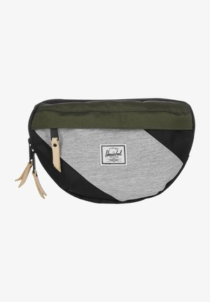 Gürteltasche - blk/ivy green/light grey cross