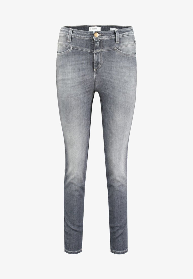 CLOSED - SKINNY PUSHER - Jeansy Skinny Fit - grey