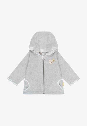 MIT KAPUZE - Fleece jacket - nimbus cloud