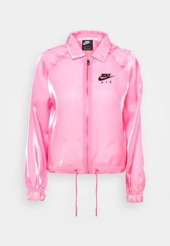 AIR SHEEN - Chaqueta fina - pink glow/black