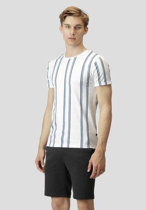 LARRY - T-shirt print - white