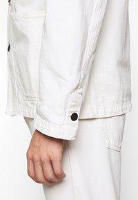 CLOSED - WORKER JACKET - Denim jacket - ivory - 3