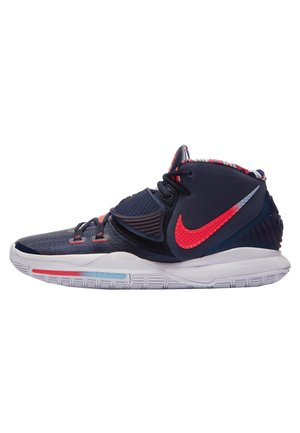 KYRIE 6 - Basketball shoes - midnight navy/laser crimson-psychic blue