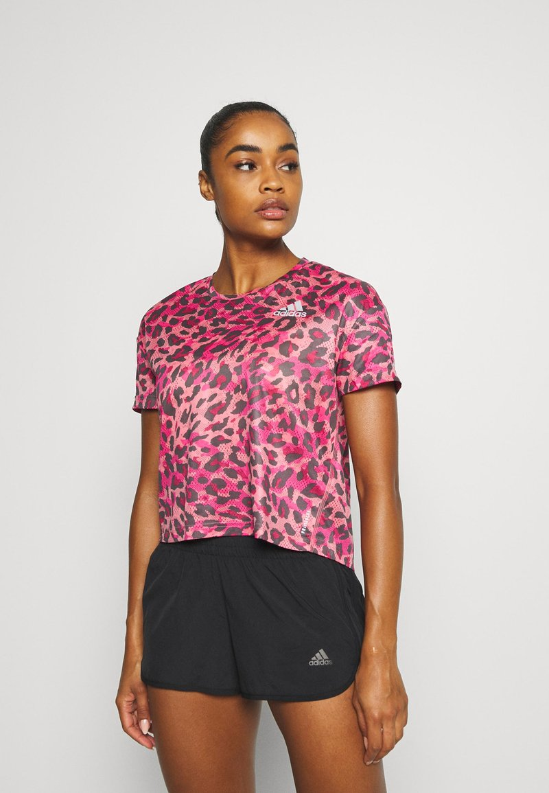 adidas Performance - PRIMEBLUE TEE - T-shirt con stampa - light pink