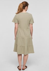 s.Oliver - Day dress - summer khaki - 2