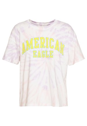 COLOR ON COLOR BRANDED - T-shirt con stampa - pink