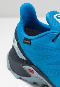 Salomon - SUPERCROSS BLAST GTX - Trail running shoes - indigo bunting/navy blazer/ashley blue - 2