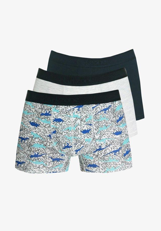 3 PACK - Pants - schwarz/ecru/bunt