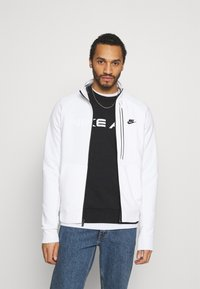 Nike Sportswear - TRIBUTE - Chaqueta de entrenamiento - white/black - 0