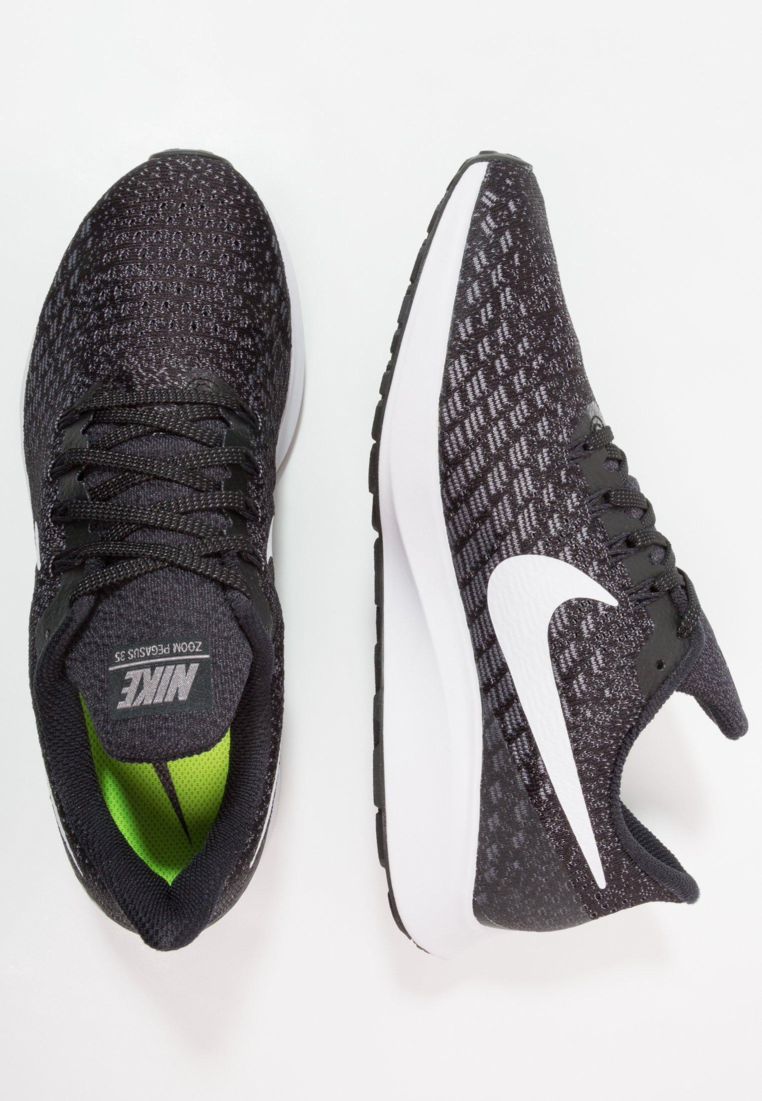 Kjøp Nike Air Zoom Pegasus 35 Black White gunsmoke grey sko