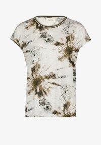 Cartoon - Print T-shirt - white/khaki - 3