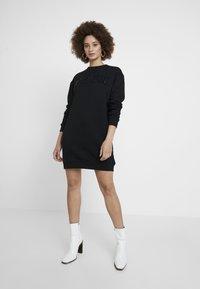 Calvin Klein Jeans - DRESS - Day dress - black - 1