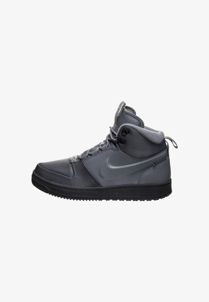 High-top trainers - grey/black
