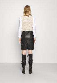 DESIGNERS REMIX - MARIE - Pencil skirt - black - 2