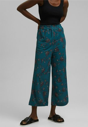FASHION - Trousers - teal green