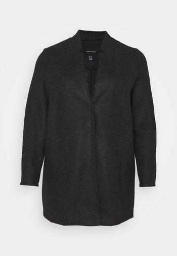 VMBRUSHEDKATRINE JACKET - Abrigo corto - dark grey melange