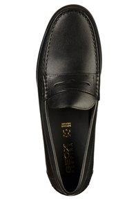 Geox - Elegantní nazouvací boty - black - 1