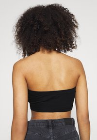 Missguided - BANDEAU TOP 2 PACK - Bustino - black/white - 2