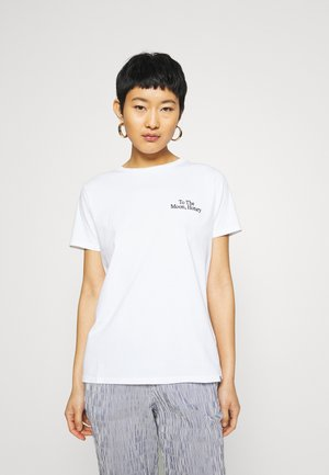 TRENDA - Print T-shirt - white