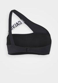 Calvin Klein Swimwear - INTENSE POWER CUT OUT BRALETTE - Bikini top - black - 1