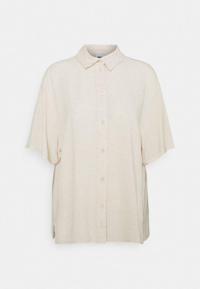 URI SHIRT - Koszula - beige/off-white