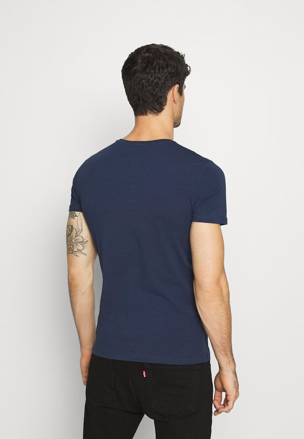Diesel UMTEE RANDAL 3 PACK - T-shirt basic - white/dark blue/black/biały Odzież Męska VWBE