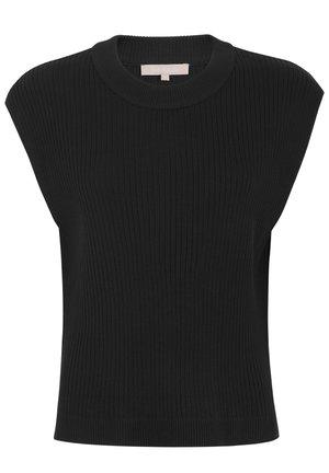 JASMIN - Print T-shirt - black