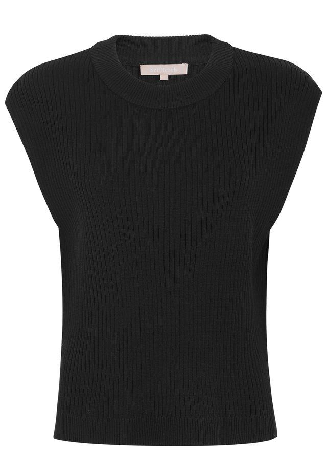 JASMIN - T-shirts print - black