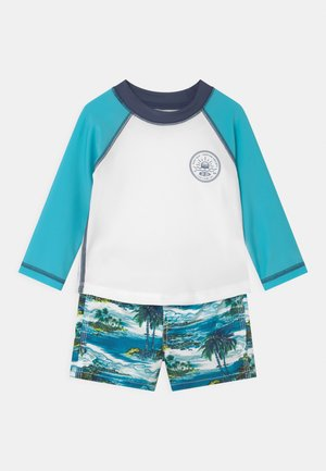 SWIM SET - Rash vest - green