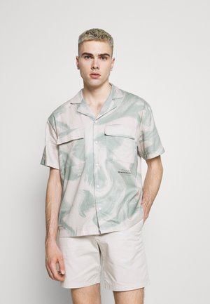MADI - Shirt - blue/off white