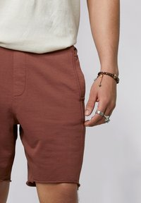 YOUNG POETS SOCIETY - Tracksuit bottoms - vintage mahogany - 3
