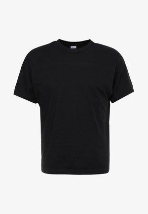 BATWING TEE - Basic T-shirt - black