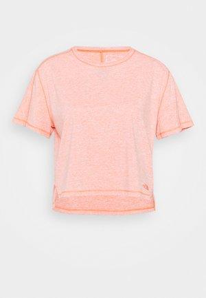 DAWNDREAM RELAXED - T-shirt basique - emberglow orange heather