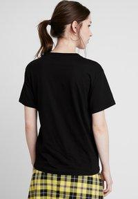 Weekday - ALANIS - Basic T-shirt - black - 2