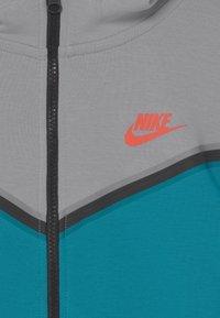 Nike Sportswear - Zip-up sweatshirt - wolf grey/aquamarine - 2