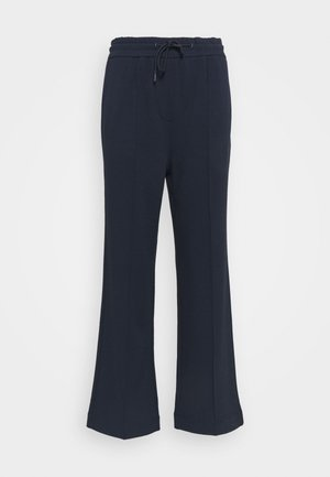 THE WIDE LEG PANTS - Tracksuit bottoms - scandinavian blue