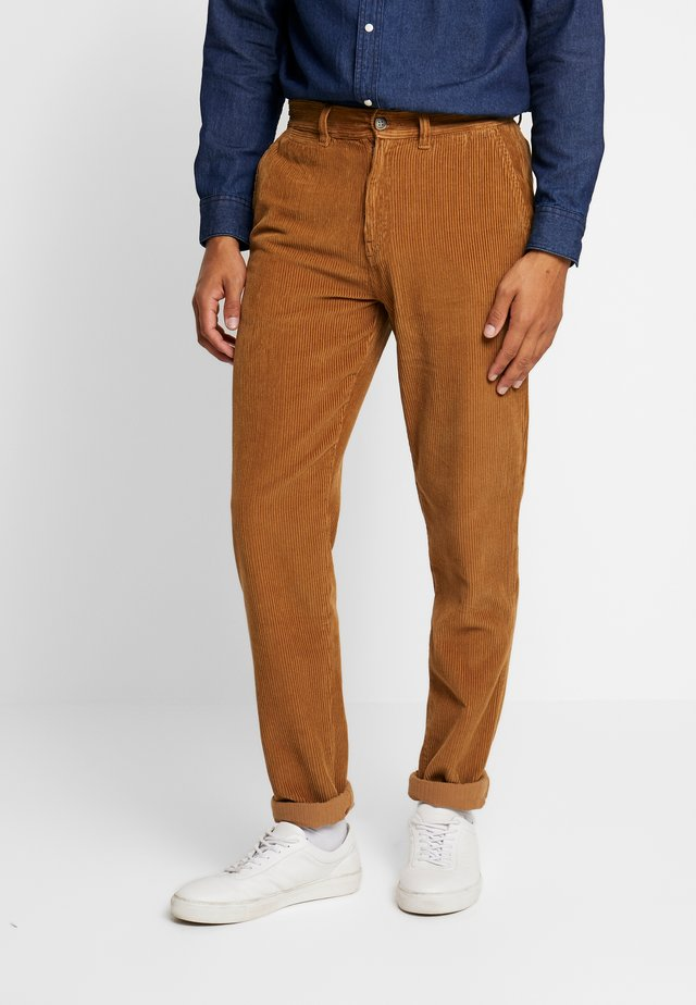 TAPERED - Trousers - stone