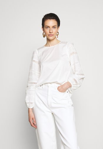 GIOTTO - T-shirt à manches longues - white