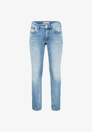 SCANTON  - Jean slim - stoned blue