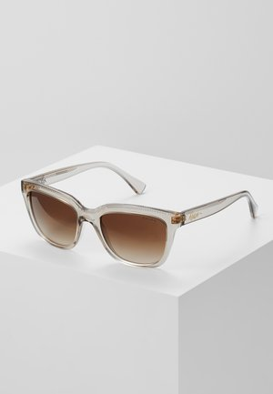 Sunglasses - transparent brown