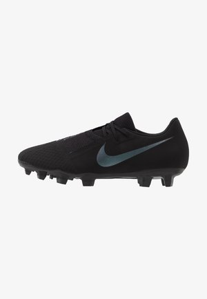 PHANTOM  ACADEMY FG - Moulded stud football boots - black/metallic vivid gold