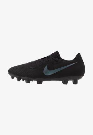 PHANTOM  ACADEMY FG - Moulded stud football boots - black/metallic vivid gold