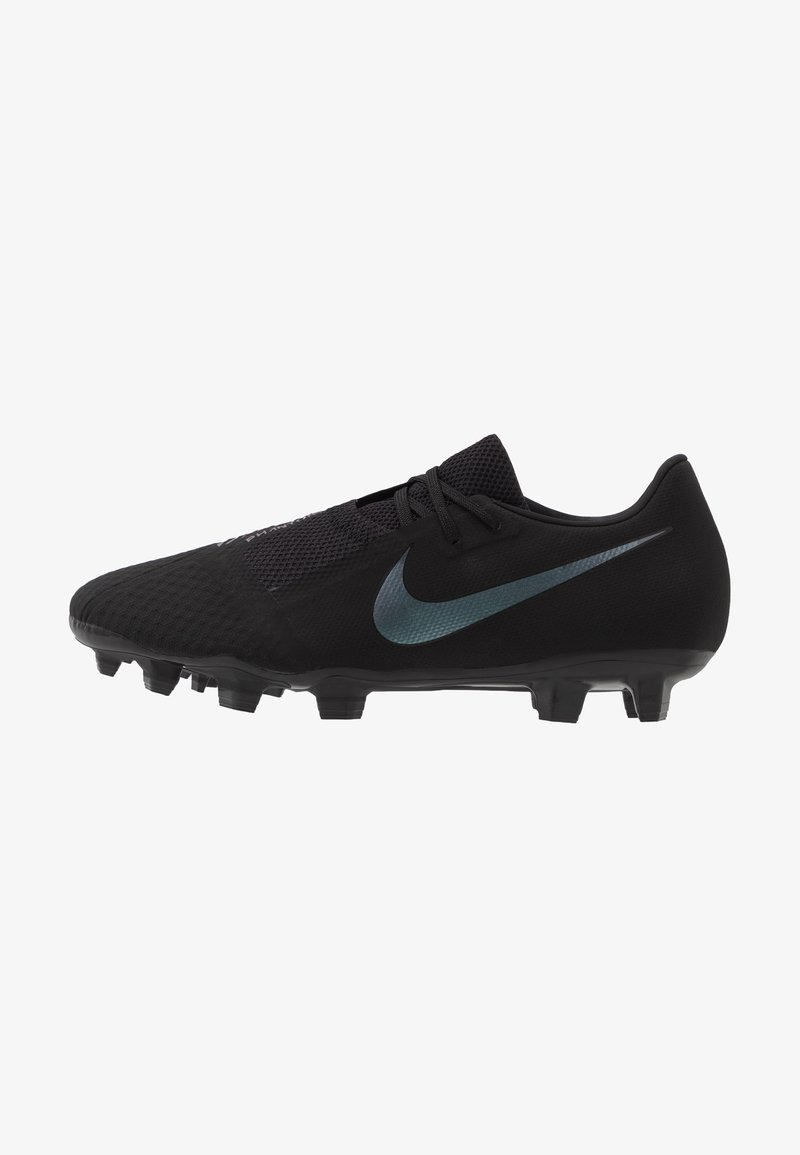Nike Performance - PHANTOM  ACADEMY FG - Fotbollsskor fasta dobbar - black/metallic vivid gold