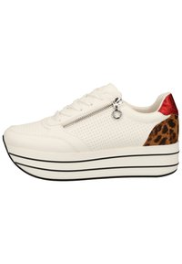 s.Oliver - S.OLIVER SNEAKER - Trainers - white punch 105 - 0