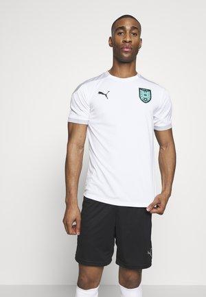 ÖSTERREICH ÖFB TRAINING - National team wear - white/high rise