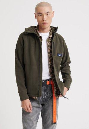 Fleece jacket - olive